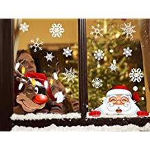 Suchergebnis Auf Amazonde Für Fensteraufkleber Weihnachten