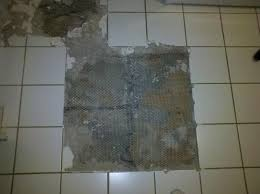 removing ceramic tile maybe set