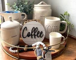 Nothing is better then coffee on the porch in the morning. Coffee Tray Etsy