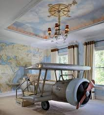 Coolest Childu0027s Airplane Themed Bedroom...talk About Money