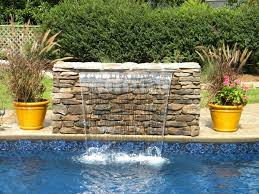 Backyard Swimming Pool Best 25 Pool Waterfall Ideas On Pinterest Grotto Pool Outdoor