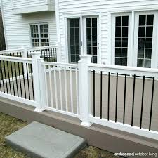outdoor gate for deck stairs porch gates dog