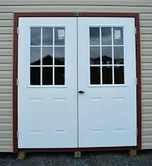 exterior double doors for shed. Fine Doors Shed Double Doors Interior Decor Ideas Exterior For Steel Entry Glass For Exterior Double Doors Shed