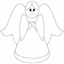 Small Picture Little Girl Angel Coloring Page