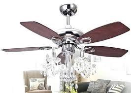 silver chandelier ceiling fan dining room modern perfect ideas chandelier ceiling fans design crystal in light