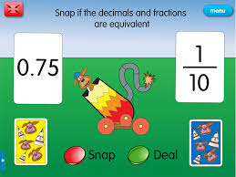Fraction Snap: A year 4 fractions & decimals resource for iPad and ...