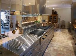 Professional Kitchen Flooring Industrial Style Kitchen Remodel Cost