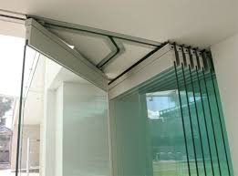 frameless glass doors provide the ultimate view inside and out