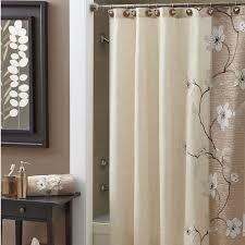 modern tie back shower curtains design