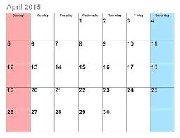 Calendar Blank 2015 Free Editable Calendar Template Images Monthly 2015 Blank