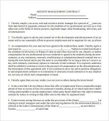 music management contract construction contract template word construction contract 9