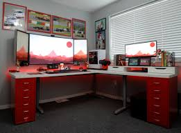 geeks home office workspace. home office battlestation geeks workspace n
