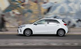 2018 kia rio hatchback. brilliant hatchback 2018 kia rio hatchback white test drive side view photo 3 of 49 on kia rio hatchback