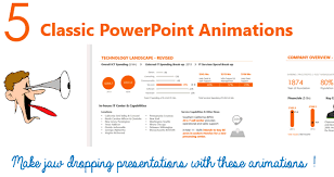 Powerpoint Animations 5 Classic Powerpoint Animations Free Course 100th Blog Goodly