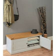 chadwick storage bench chadwick satin lacquered oak hidden