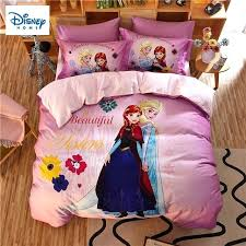 frozen princess bedding sets queen size comforter duvet covers for kids bedroom decor twin bed sheets twin comforter sets