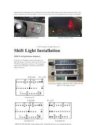 s100 s200 installation manual hondata honda ecu modification 13 alternately the shift light