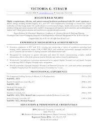 Cover Letter Med Surg Nurse Resume Med Surg Telemetry Nurse Resume