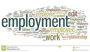 Employment Word Cloud Stock Vector Illustration Of Words 15229436