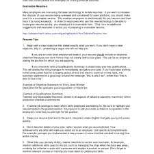 Resume Objective For Masters Program New Resume Skills Summary