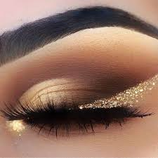 make up looks gold smokey eyes StonexoxStone Instagram Pinterest