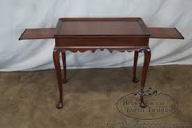 Henkel Harris Dining Table Henkel Harris Solid Cherry Queen Anne End Tea Table Bucks County