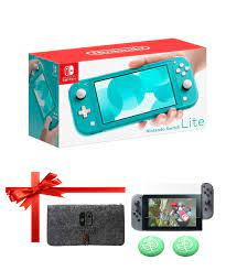 Nintendo Switch Console Lite Turquoise - TheGioiGames.VN