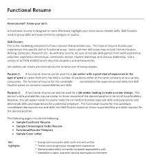 Skills Based Resume Template Sample Skill Based Resume Example Of Skills Based Resume L Examples