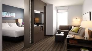 Spacious Hotel Rooms with Fully Equipped Kitchen | Hyatt House East ...