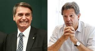 Resultado de imagem para Datafolha: Bolsonaro e Haddad