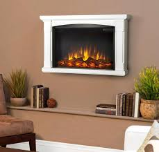 image of room decor electric wall mount fireplace ideas