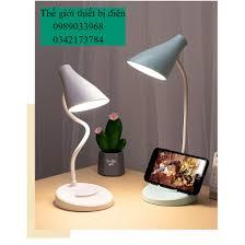 Đèn bàn học Bảo hành 3 thángGiá để điện thoại Đèn led đọc sách chống cận cho  trẻ học sinh chính hãng 180,000đ