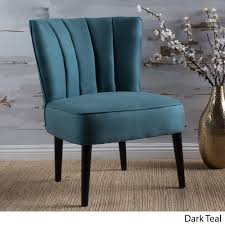 erena fabric channel accent chair by christopher knight home free today com 20976943