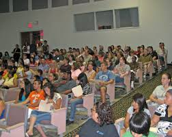 lec welcomes incoming freshmen 08 09 2011 news archives cccc click to enlarge incoming early lee college freshmen and their parents gathered 3 at