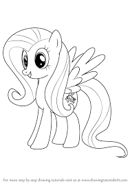 my little pony drawings learn how to draw fluttershy from my little pony