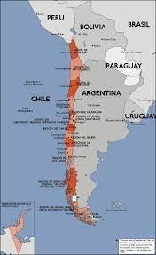 Mappa di città del cile - Santiago mappa della città (Cile)