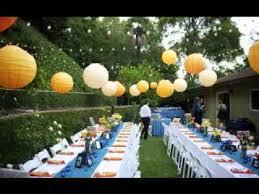 Garden Wedding Decoration Ideas