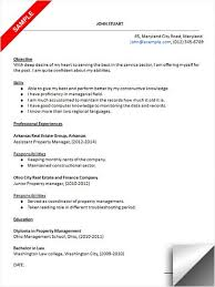 Property Manager Resume Sample Resume Examples Pinterest