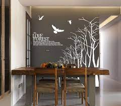 dining room tree branch wall decal
