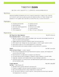 Healthcare Administration Resume Luxury 53 Lovely Resume Samples