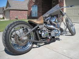 custom chopper springer s s bobber harley fat boy hardtail