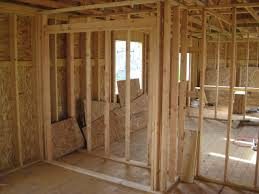 framing an interior wall. Interior Wall 2. Here Is A Closet That Was Framed Into The Bedroom. Headers Are Not Supporting So They Can Quickly Be Out Of 2x4s As Well. Framing An H