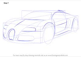 Although only a concept, the racing car previews the brand's future design. Learn How To Draw Bugatti Veyron Sports Cars Step By Step Drawing Tutorials