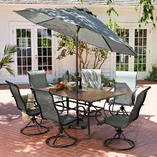 HD Designs Outdoors Franklin Park 7 Piece Patio Set