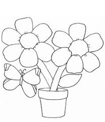coloring pages for kids flowers.  Pages Free Printable Flower Coloring Pages For Kids Inside Flowers O