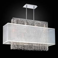 linear crystal chandelier rectangular shade chandelier 595 glow in cozy linear crystal chandelier for