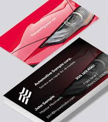 Automotive Business Cards Free Designs Printelf