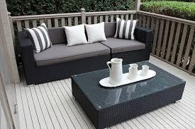 Furniture  Resin Wicker Furniture Shining Resin Wicker Garden Black Outdoor Wicker Furniture
