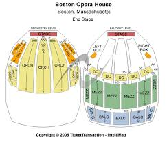 Cheap Boston Opera House Tickets