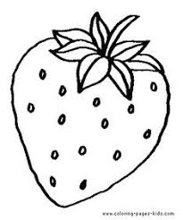 Coloring Pictures Of Fruit Apple Coloring Pages For Kids Fruits